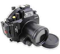 EACHSHOT 40M 130ft Waterproof Underwater Camera Housing Case Bag for Olympus E-M5 (12-50mm)