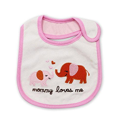 Price comparison product image Olive Tayl 100% Cotton Baby Bib Infant Saliva Towels Baby Waterproof Bibs Newborn Wear Cartoon Accessories animal shape 2 One Size