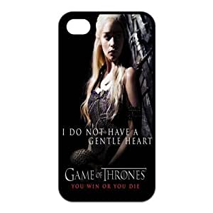 Creative Madisonarts Customize Game of Thrones Iphone 4/4S Case TPU Case Fits and Protect Iphone 4 and Iphone 4s-MA-Iphone 4-01357