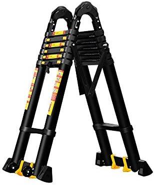 AOLI Escalera articulada Escalera plegable, aleación de aluminio Plegable gruesa Telescópica Escalera articulada grande Adecuado para la escalera doméstica Escalera de ingeniería de elevación multifu: Amazon.es: Bricolaje y herramientas
