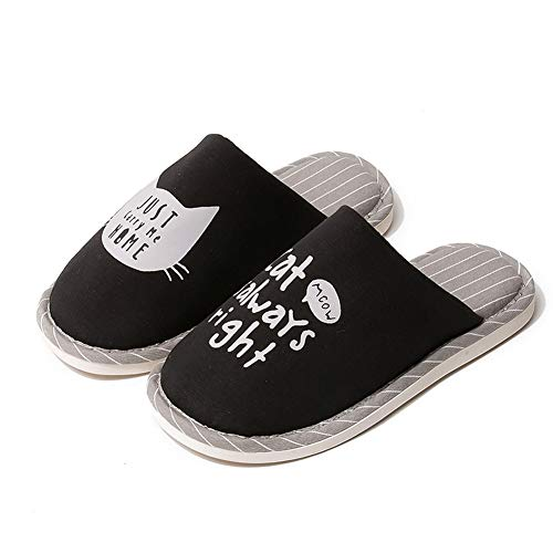 GONGYU pour GONGYU pour Femme Femme Chaussons Noir Chaussons Chaussons GONGYU Femme Noir pour ppRHqrxU