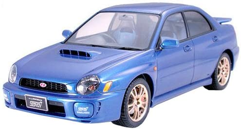 Amazon.com: Tamiya Subaru Impreza WRX STi - 1/24 Scale Model Kit 24231: Toys & Games