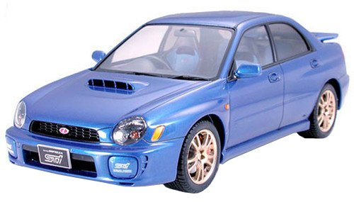 - Tamiya Subaru Impreza WRX STi - 1/24 Scale Model Kit 24231