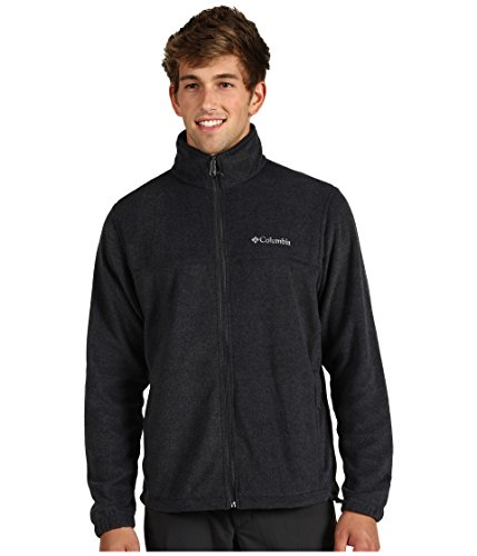Columbia Apparel Men's Steens Mountain Full Zip 2.0 Soft Fleece Jacket, Charcoal Heather Large from Columbia