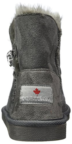 Donna dk Stivali Arricciati 266 Canadians Grigio 374 252 Grey ZUvnYWTI
