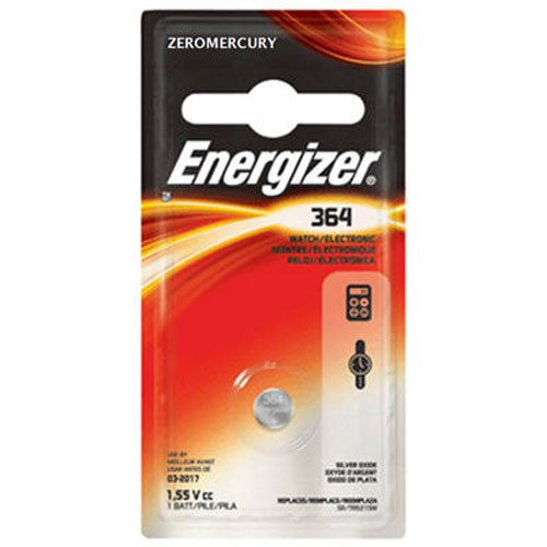 Energizer 364BPZ Zero Mercury Battery - 1 Pack