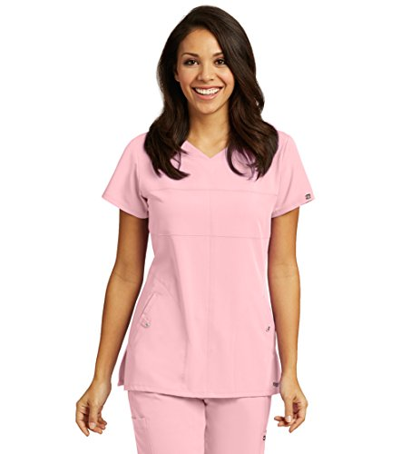 Grey's Anatomy Signature 2120 V-Neck Top Rose Blush XS
