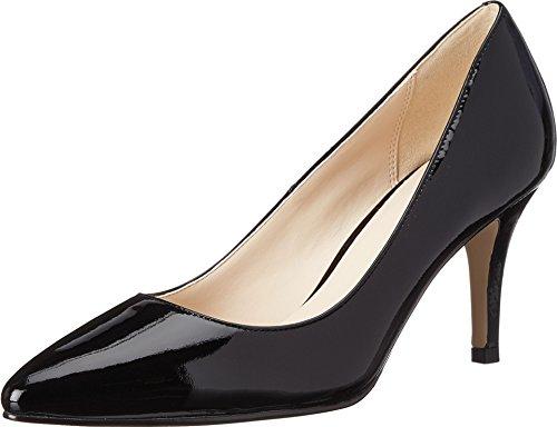 Cole Haan Women's Juliana 75 Dress Pump, Black Patent, 8 B (Black Patent Leather Heels)