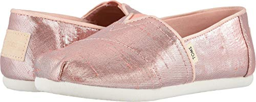 TOMS Kids Girl's Alpargata (Little Kid/Big Kid) Persimmon Metallic Shantung 2.5 M US Little Kid]()
