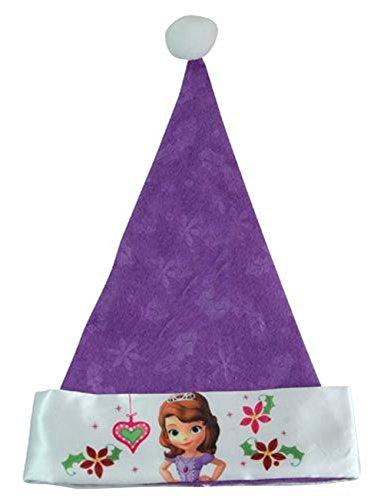 Disney Sofia the First Princess Purple Santa Hat, 16