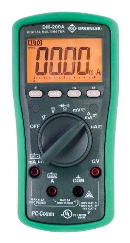 Greenlee DM-200A Digital Multimeter 1000 Volt