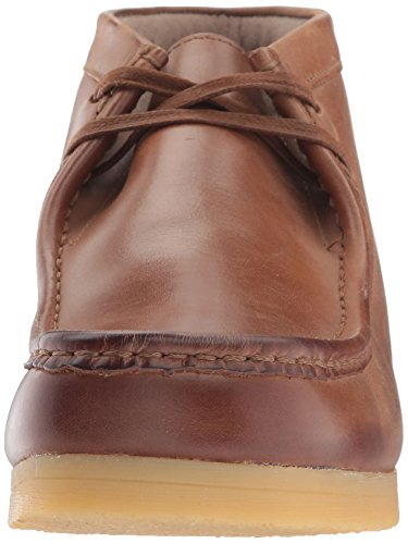 Clarks  Padmore II, Herren Stiefel Braun Brown Oily Dark Tan Leather