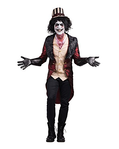 Master Of The House Costume (Men's Mad House Ring Master Costume (X-Large))