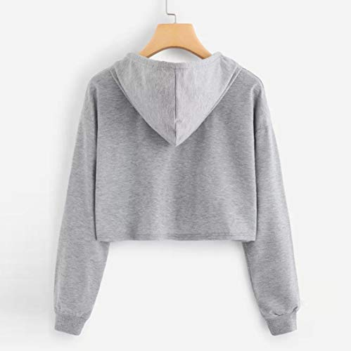 Gris Chemisier Ananas à Sweat Long Shirt Sweat Womens Capuche Pullover Capuche à Tops Femme Top Sleeve Appliques Pull Beikoard wqUf8Zq
