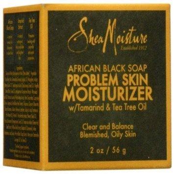 SheaMoisture savon noir africain problème hydratant - 2 oz