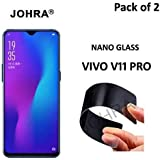 Johra Unbreakable Nano Screen Protector (Not a Tempered Glass) for Vivo V11/Pro- Pack of 2