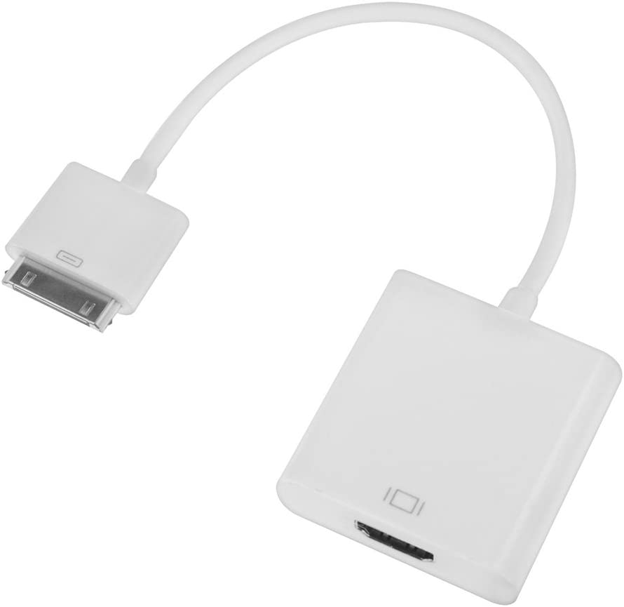 4xem 4X30PINHDMI 30-Pin to HDMI Adapter,White