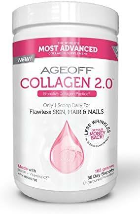 NUVOCARE Ageoff Collagen Powder, 165 GR