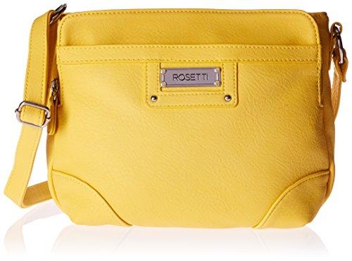 [Rosetti Stella Crossbody with Adjustable Strap, Daffodil Yellow] (Yellow Purses)