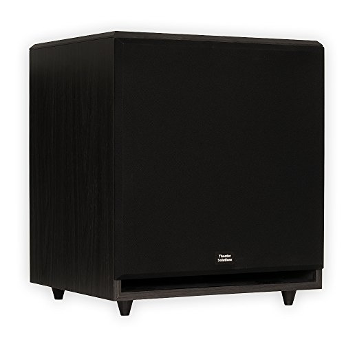 Theater Solutions SUB15F Front Firing Powered Subwoofer (Black)