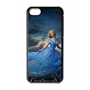 iphone5c phone cases Black Cinderella cell phone cases Beautiful gifts YWRD4655703