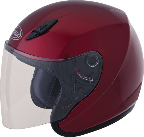 Gmax G317095; Gm17 Open Face Candy Red M Made by Gmax