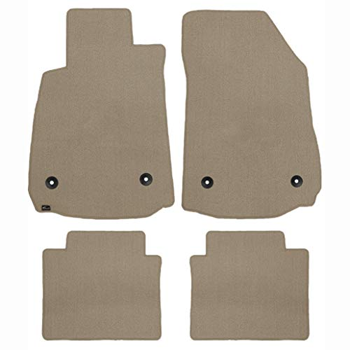Brightt (MAT-ONO-838) 4 Pc Car Floor Mat Set - Shale Classic Carpet - compatible for 1954-1962 Nash Metropolitan (1954 1955 1956 1957 1958 1959 1960 1961 1962 | 54 55 56 57 58 59 60 61 62)
