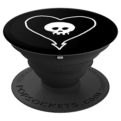 Alkaline Trio- Heartskull Official Merchandise PopSockets Grip and Stand for Phones and Tablets
