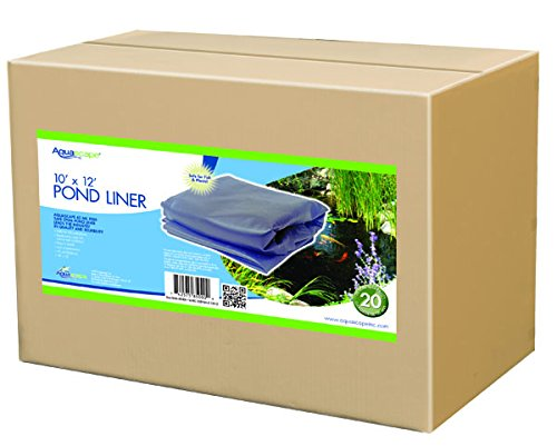 Aquascape 85001 EPDM Boxed 45 Mil Liner for Pond, Waterfall, and Water Features, 12 x 15 Feet