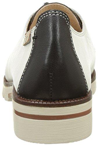 de Derby Cordones Mujer Negro Zapatos v17 W7j Sitges para Pikolinos Black qFwxII