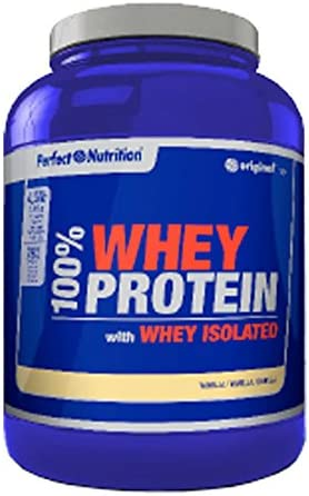 Perfect nutrition 100% Whey Protein + Iso - 2 Kg Chocolate Blanco