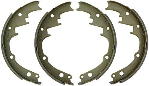 ACDelco 17280B Professional Bonded Rear Drum Brake Shoe Set