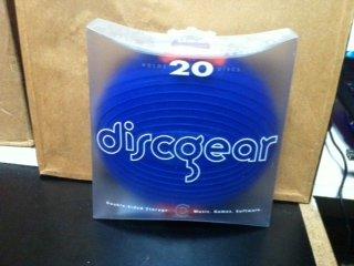Discus Sport, Blue 20 Disc Case