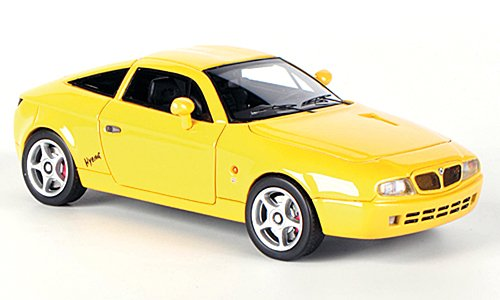 Lancia Hyena Zagato, yellow , 1992, Model Car, Ready-made, Neo 1:43