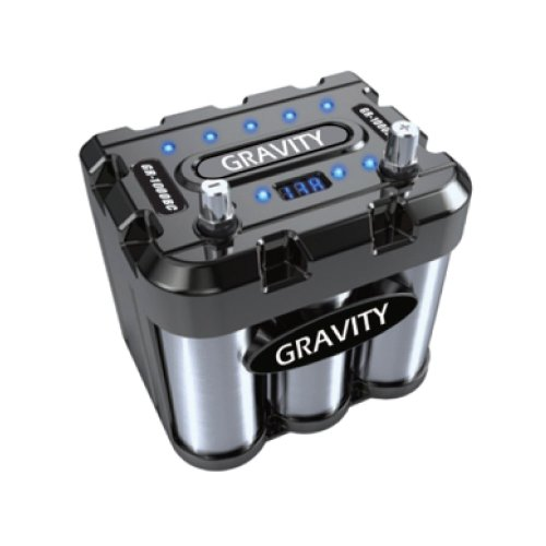 Gravity Audio 1000A Car Battery Capacitor WITH LED & Black C