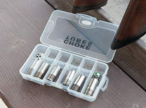 G. Outdoor Products G.P.S. GPS-350CTB Shotgun Choke Tube Case Clear