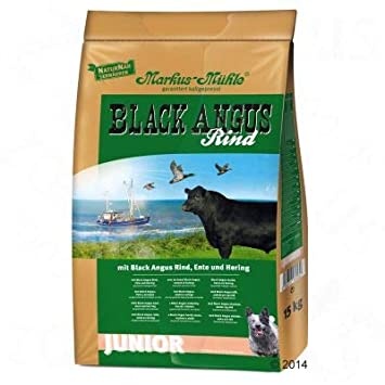 Markus Muhle Black Angus Junior Complete Dry Dog Food Free From
