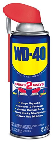 WD-40 Multi-Use Product with SMART STRAWSPRAYS 2 WAYS, 12 OZ [6-Pack] from WD-40