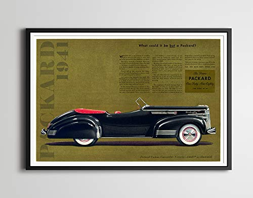 1941 Packard Victoria Ad POSTER! - Multiple Sizes - for sale  Delivered anywhere in USA