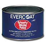 Polyester Glazing Putty - Quart-2pack by Fibreglass Evercoat