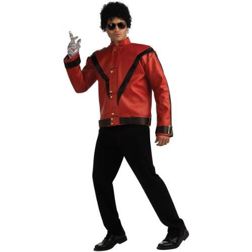 Deluxe Michael Jackson Jacket Costume - X-Large - Chest Size 44-46