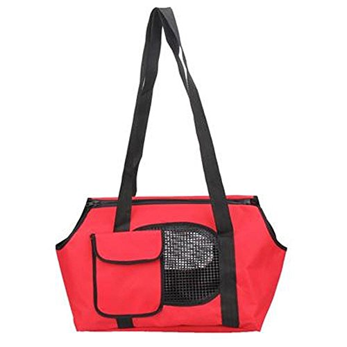 Sunnyillumine Pet Bag Spring Summer Breathable Bicycle Pet Carriers Small Dogs Pet Bag Dog Cats Carrying Bag Outdoor Portable Bed Blue, - Bed Metro Dog