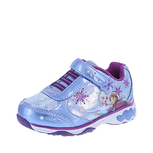 Frozen Girls Light-Up Runner - Toddler & Little Girl Sizes
