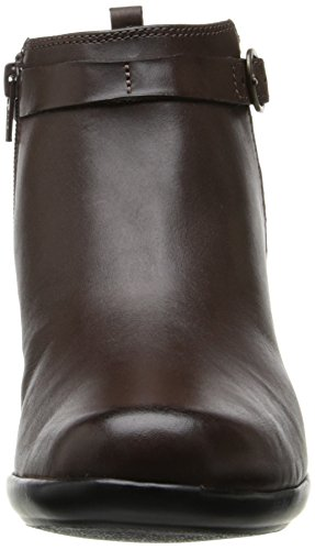Women's Brown Leather Hawthorn Malia Clarks gqx1wdd