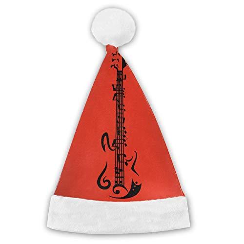 Musik Vibe Guitar Halloween Customes Hat,Christmas Hat Velvet