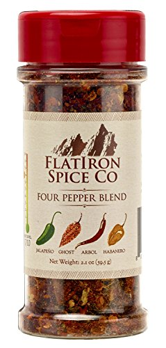 Flatiron Spice Co - Four Pepper Blend. Premium Chile Flakes (Chili Habanero Pepper Chile)