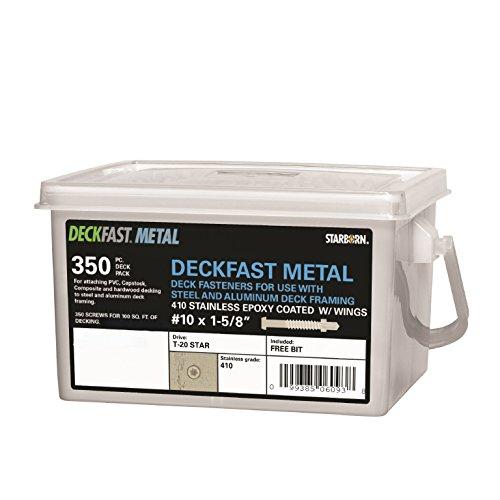 "Deckfast Metal - Sand (#64) - 350 pc. Deck Pack - 1-5/8"" ..."