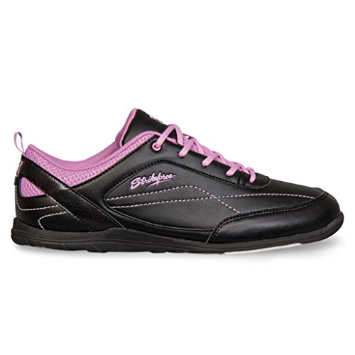 KR Strikeforce L-044-080 Capri Lite Bowling Shoes, Black/Orchid, Size 8