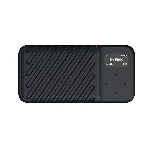GNARBOX 2.0 SSD (256GB) – Rugged Backup Device for Your Camera