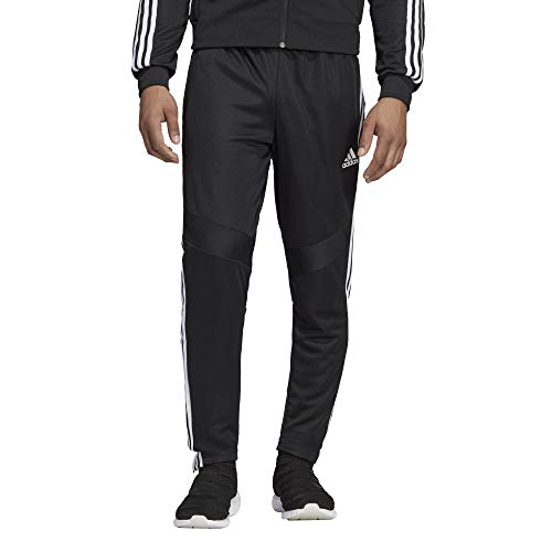adidas Men's Tiro19 Training Pants, Black/White, X-Small
